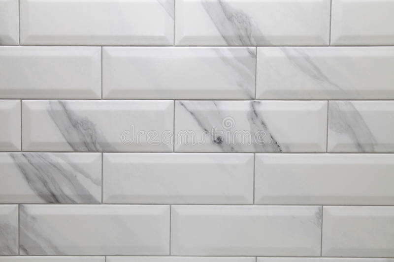 White Metro Ceramic Tile Background Stock Image Image Of