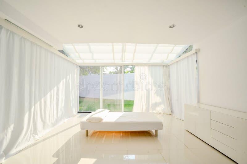 White minimalist interior stock image