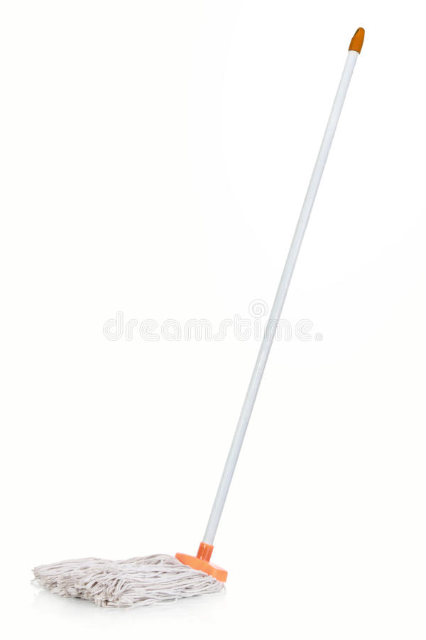 White mop stock images