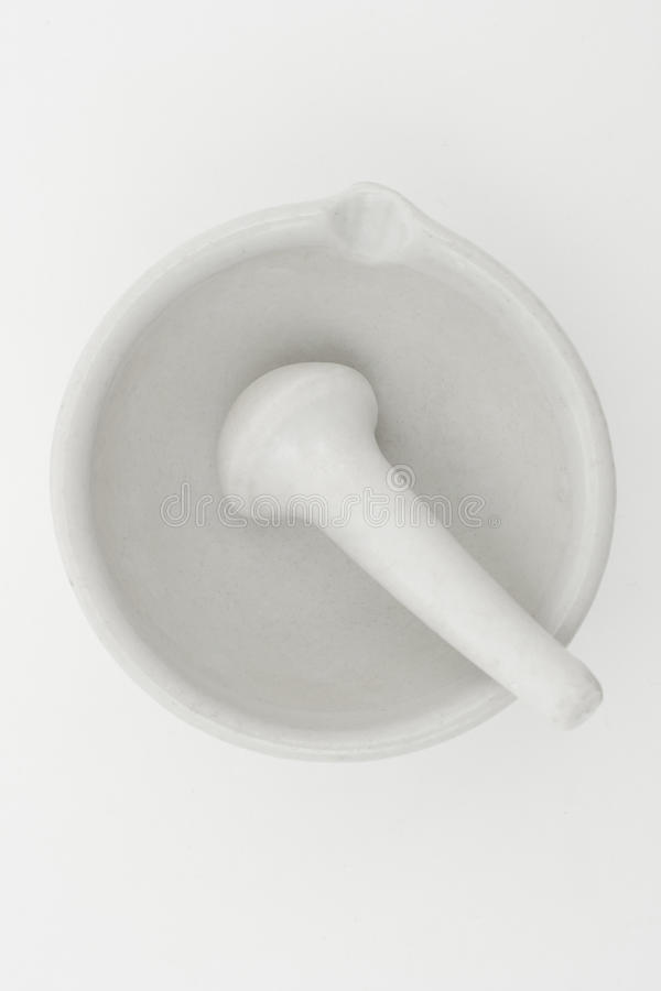 Download White mortar and pestle stock photo. Image of porcelain - 11815320