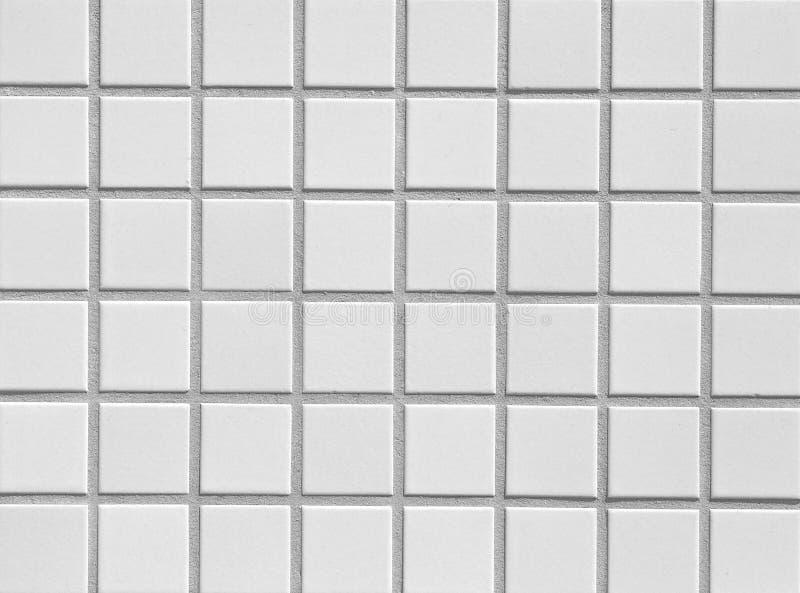 White mosaic royalty free stock photo