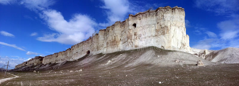 White Mountain (general View) Royalty Free Stock Photography