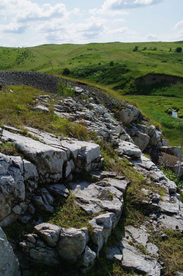 White mountain rock stock images