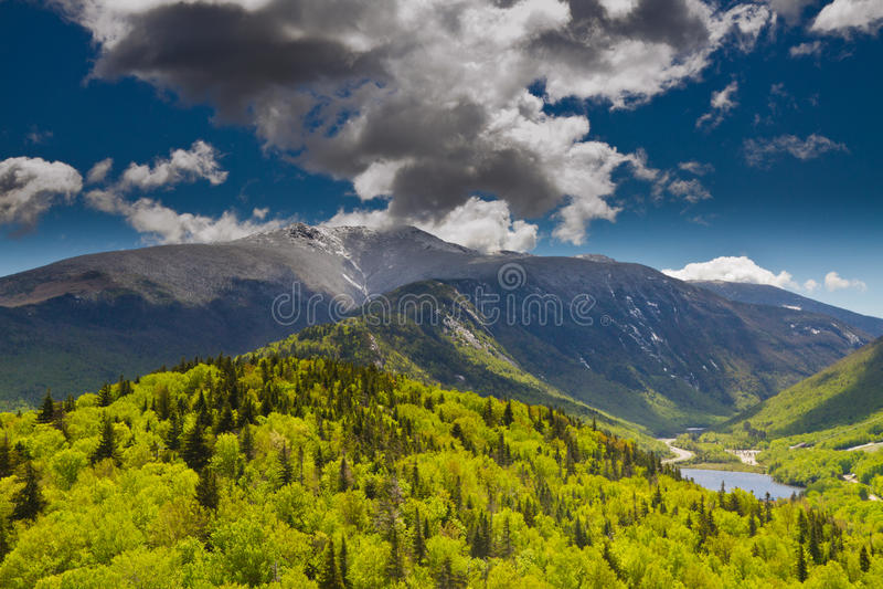 White Mountains, New Hampshire stock image