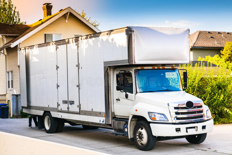 Moving truck image