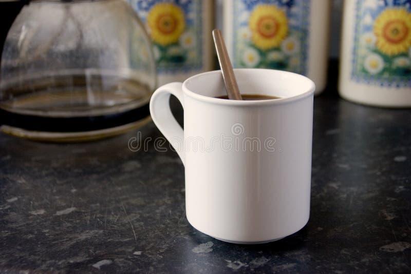 White Mug 2 royalty free stock images