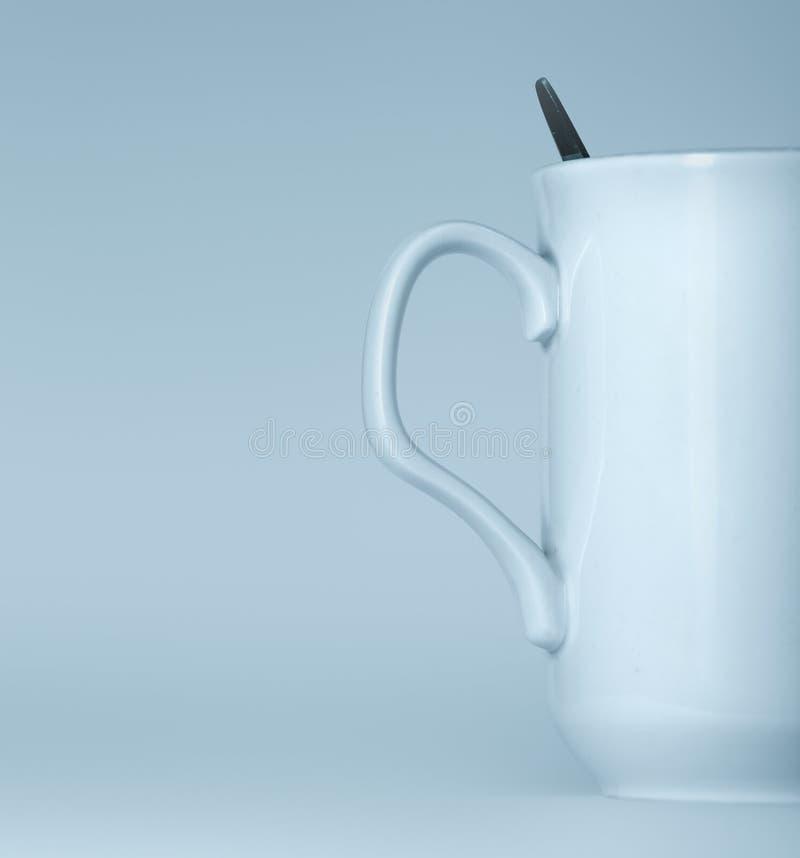 Download White mug stock image. Image of empty, blue, addiction - 4092213