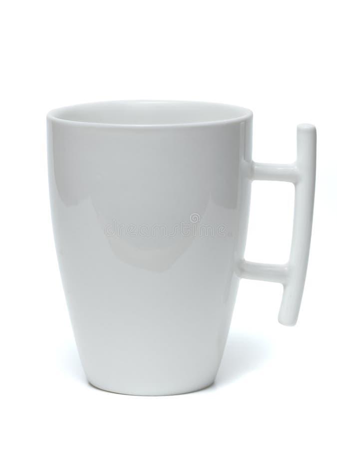 White mug. royalty free stock images