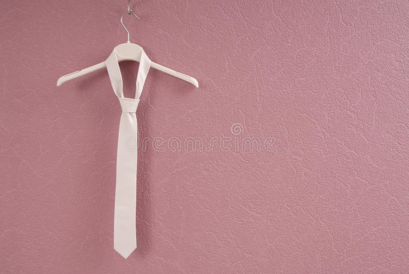 White necktie stock images