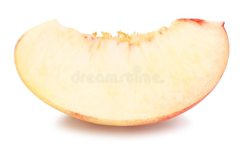 White nectarine royalty free stock photos