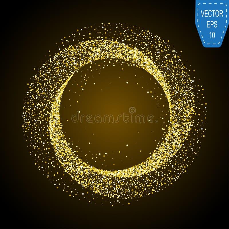 White neon magic glowing light. Glow swirl effect wave. Glitter magic sparkle swirl trail on transparent christmas background. royalty free illustration