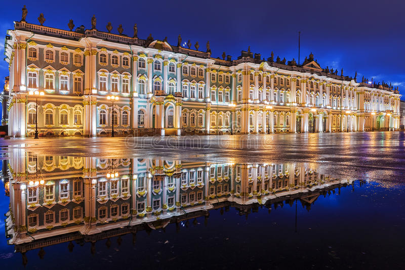 White Nights in St Petersburg. royalty free stock photos