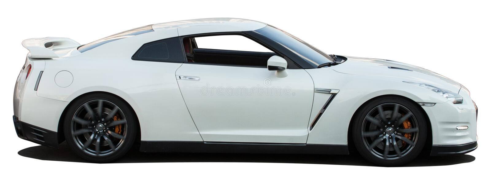 Download White Nissan Skyline GTR On A Transparent Background Stock Image    Image Of Black,