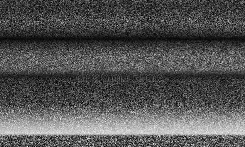 WHITE NOISE TV TEXTURE. White noise texture. Unconfigured TV royalty free stock photo