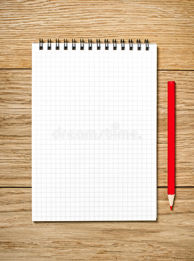 Download A White Note Book With Lots Of Room For Your Text Or Image And A Royalty Free Stock Images - Image: 35120169