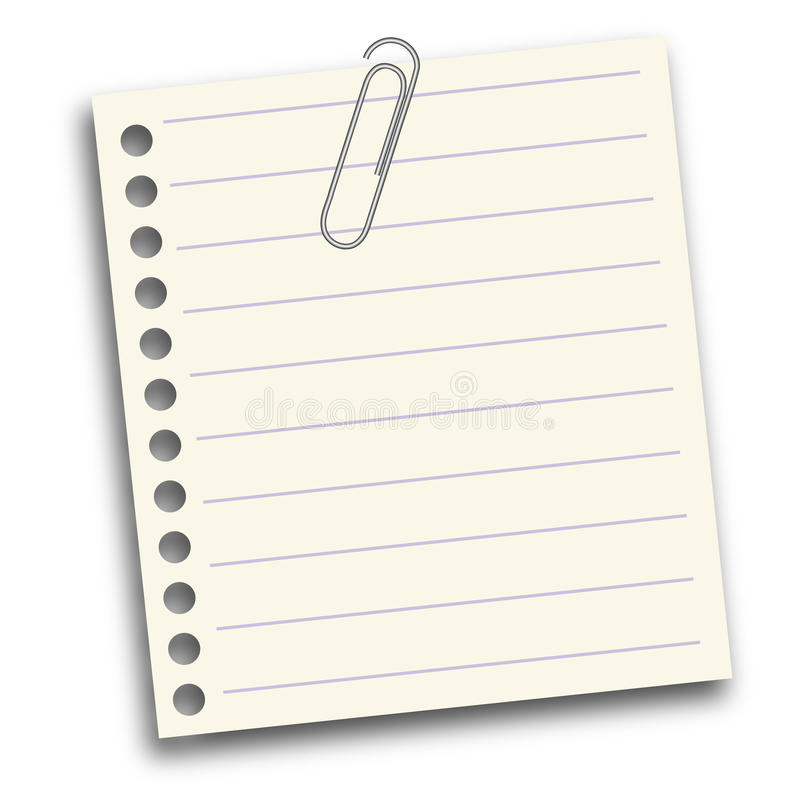 White Notepaper