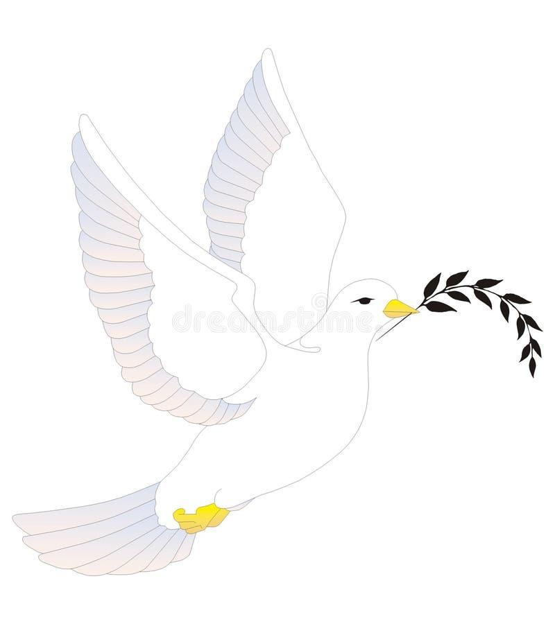 white nurkujący ilustracja wektor