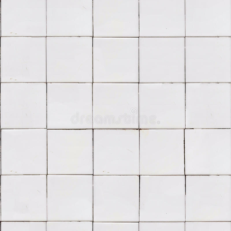 White Tile Wall Texture Stock Illustration Image Of