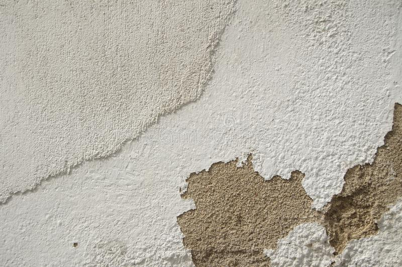 White Old Vintage Pain Peeling Wall Cracks Texture for background and design art work. Vintage Seamless Old Pain Peeling Wall Cracks Texture for background and royalty free stock image