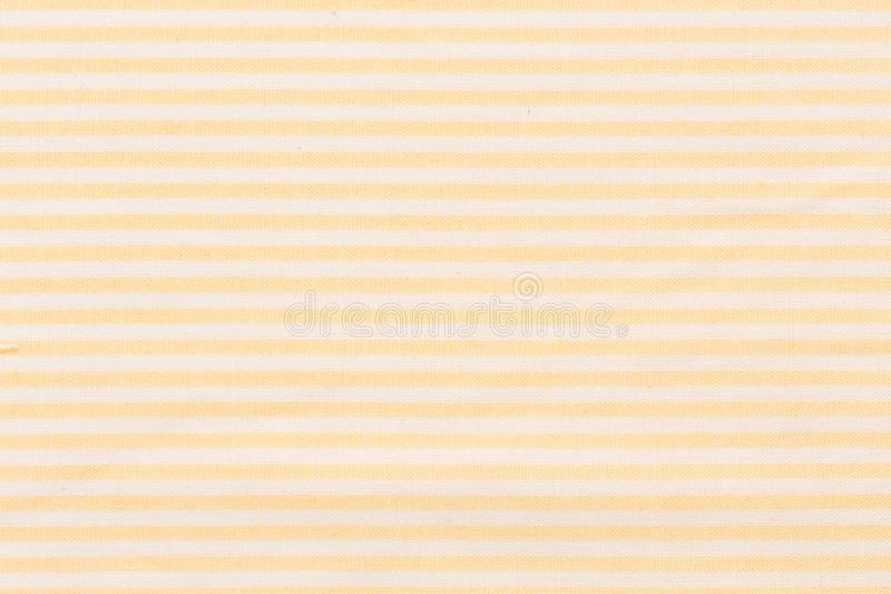 White and orange fabric striped pattern texture background. Close up of white and orange fabric striped pattern texture background. Hi res vector illustration
