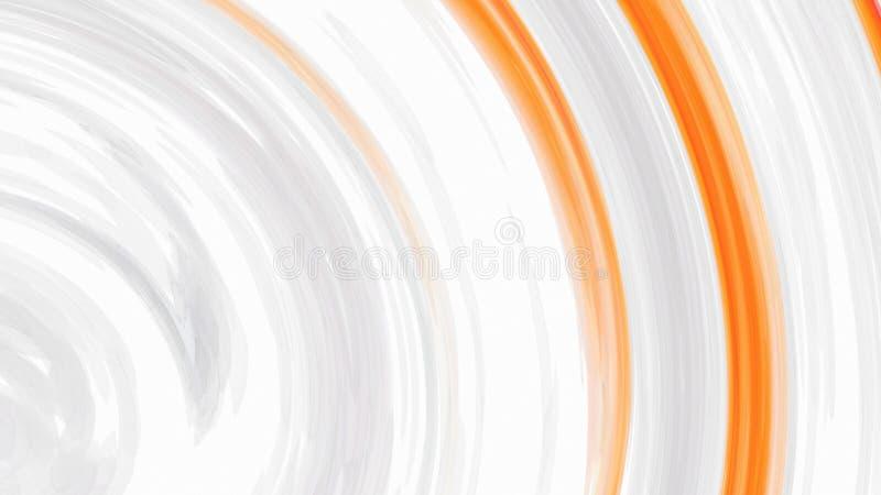 White Orange Line Background Beautiful elegant Illustration graphic art design Background. Image royalty free illustration
