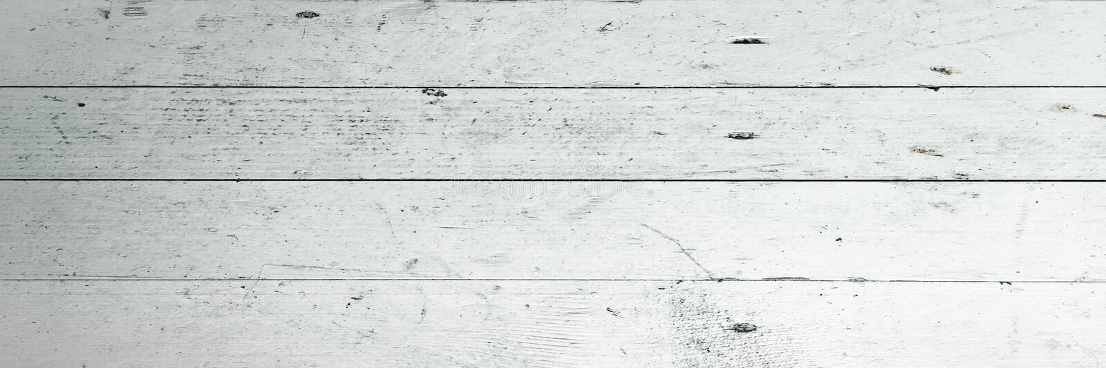 White Organic Wood Texture. Light Wooden Background. Old Washed Wood royalty free stock images