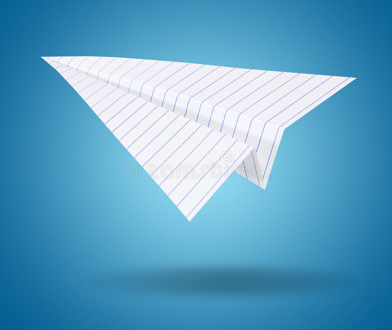 Download White Origami Plane Stock Images - Image: 26462194