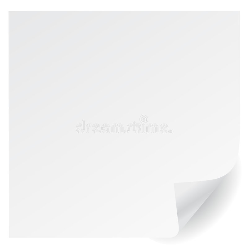 Download White page corner vector stock vector. Image of gold, image - 9007641