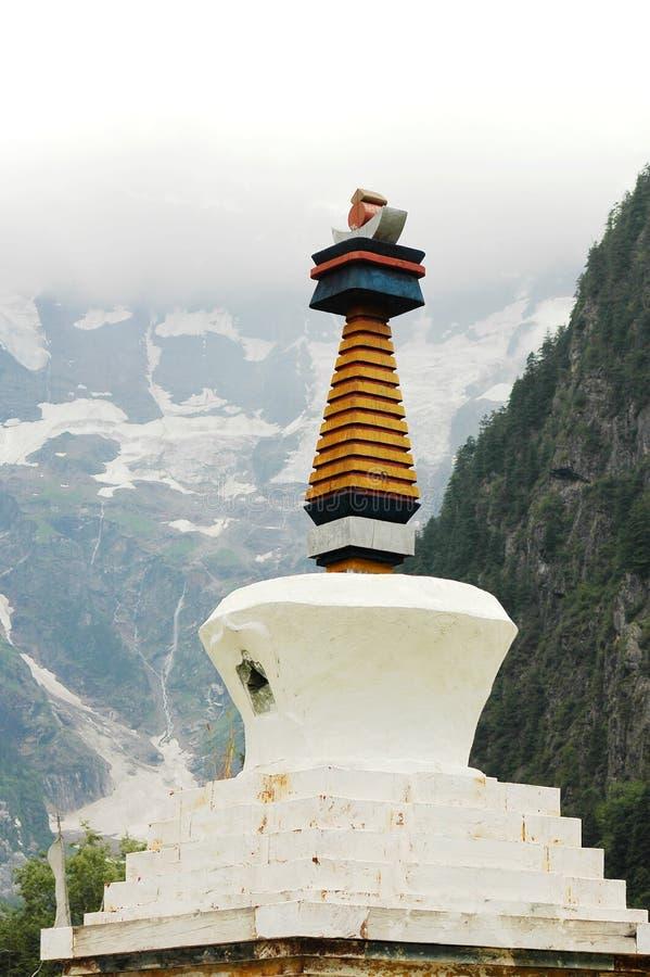 White Pagoda royalty free stock photography