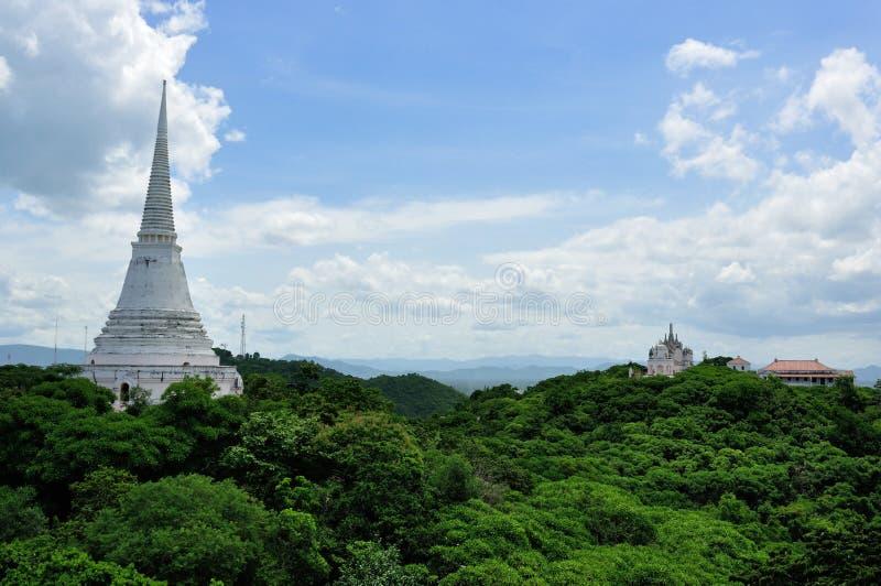 Download White Pagoda In Khao Wang Royal Palace Stock Image - Image: 26207909