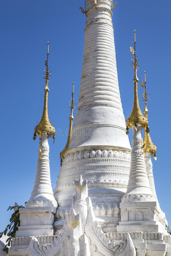 Download White Pagoda stock image. Image of architecture, exterior - 53119865