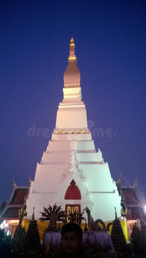 The white pagoda stock images