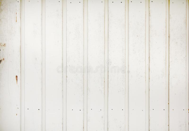 White painted old wooden panel texture background stock photography