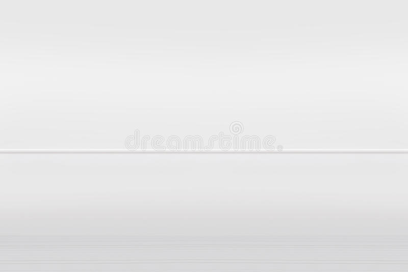 White painted wall and vintage wooden floor, interior background. White painted brick wall and vintage wooden floor, interior background, component for montages stock images