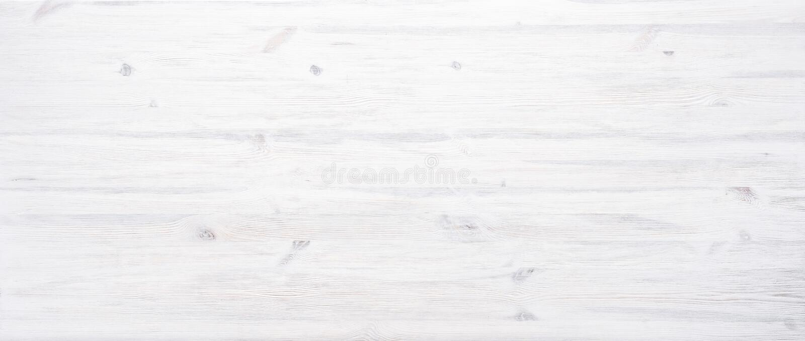 White painted wooden texture desk background table banner design header stock photography