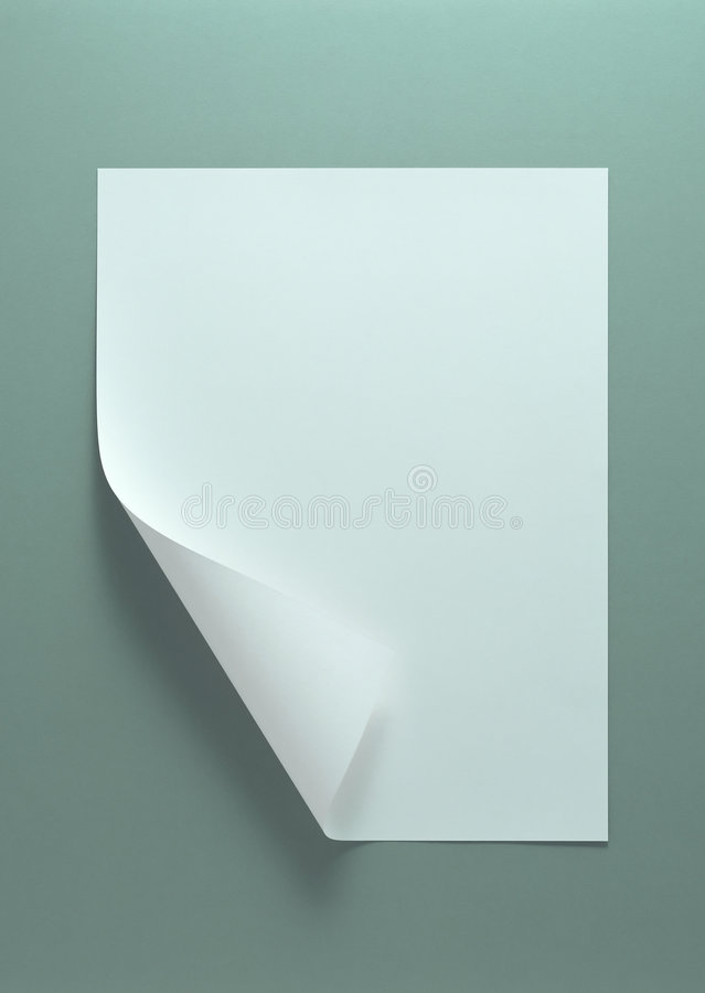 White paper royalty free stock images