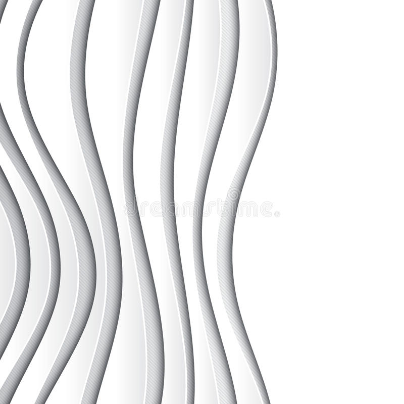 White paper vector abstract background vector illustration