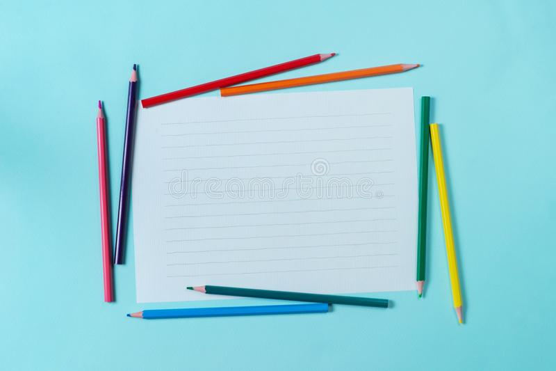 White paper on the background royalty free stock photography