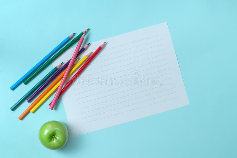 White paper on the background royalty free stock images
