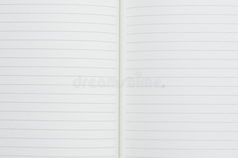 White paper book stock images
