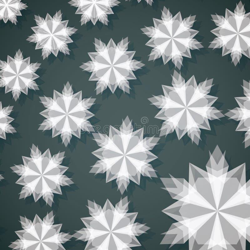 White Paper Christmas Snowflake Stock Image