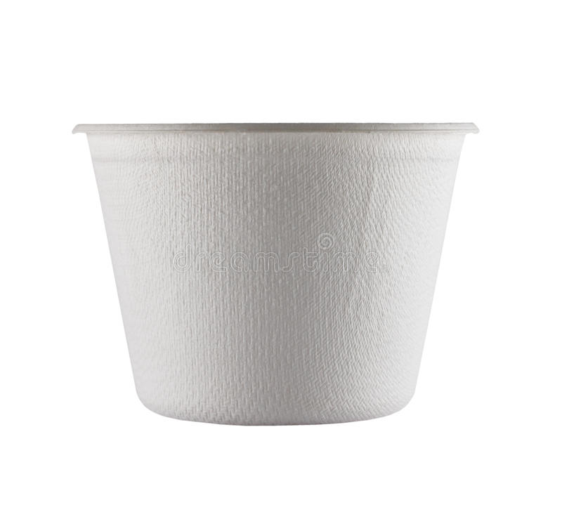 Download White Paper Cup close up stock photo. Image of container - 39509336