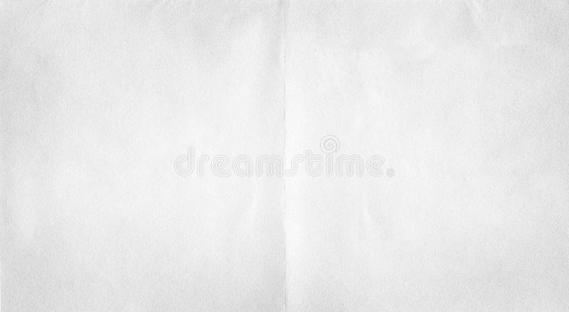 White paper fold texture. Empty of white paper fold texture background royalty free stock photography