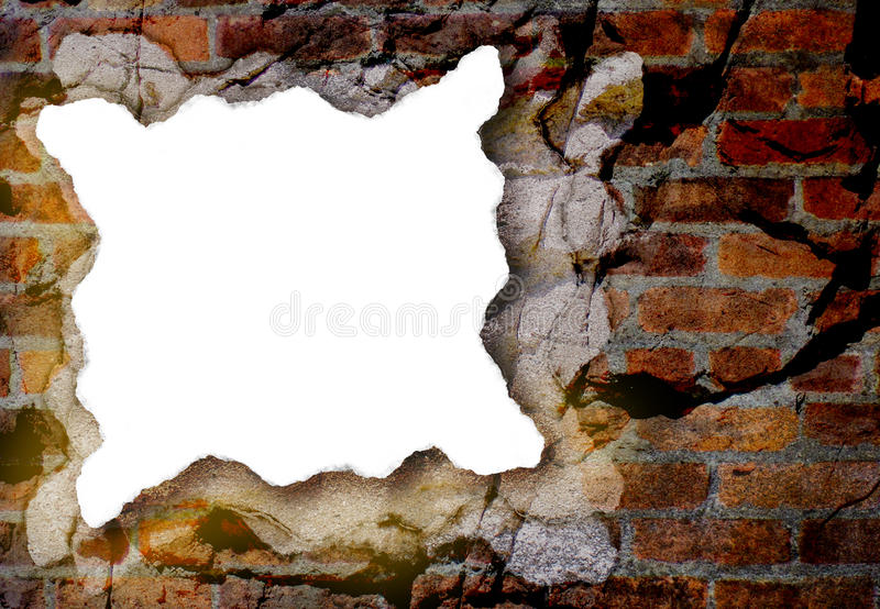 Download White Paper Piece With Grunge Background Stock Illustration - Image: 10142337