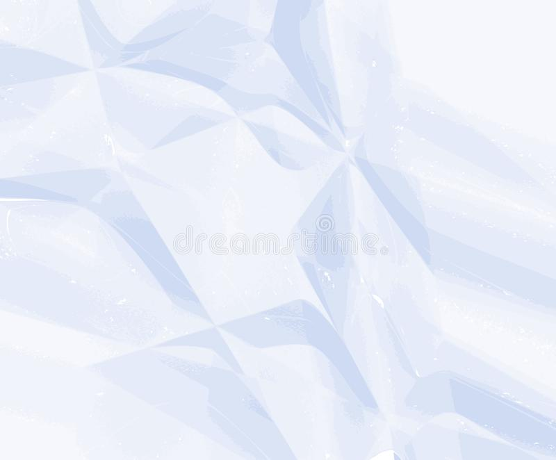 White paper wrinkled texture for background and copy-space. Vector illustration royalty free illustration