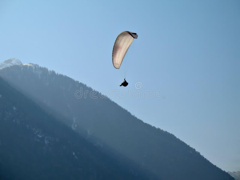 white paraglide zdjęcia stock