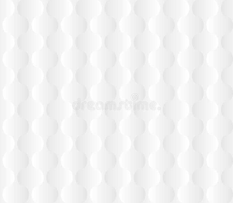 Elegant Geometric White Light Gradient Seamless Pattern Texture. Vector stock illustration