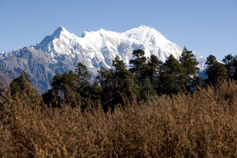 White peaks stock photos