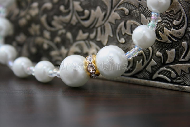 Download White pearl stock photo. Image of jewel, decoration, white - 28387316