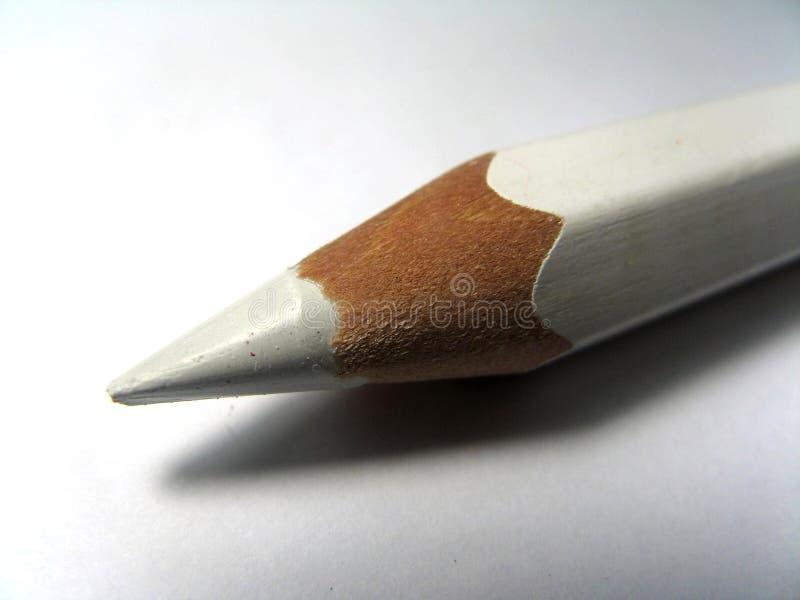 White Pencil stock photo
